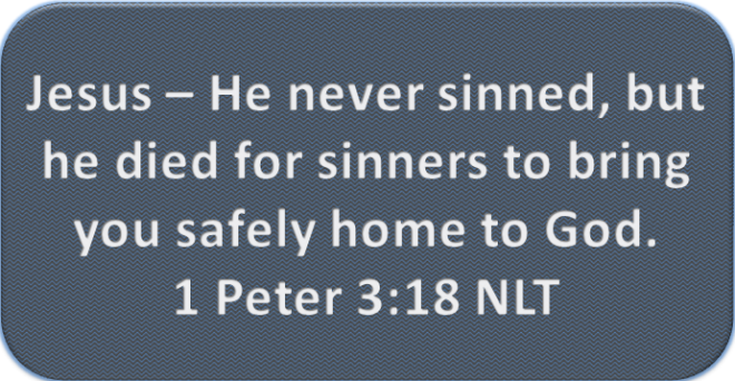 1 peter 3 18