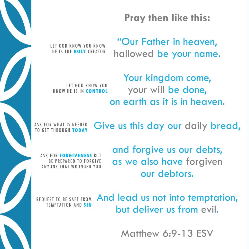 Matthew 6:6-13 | How to Pray – Human Effort